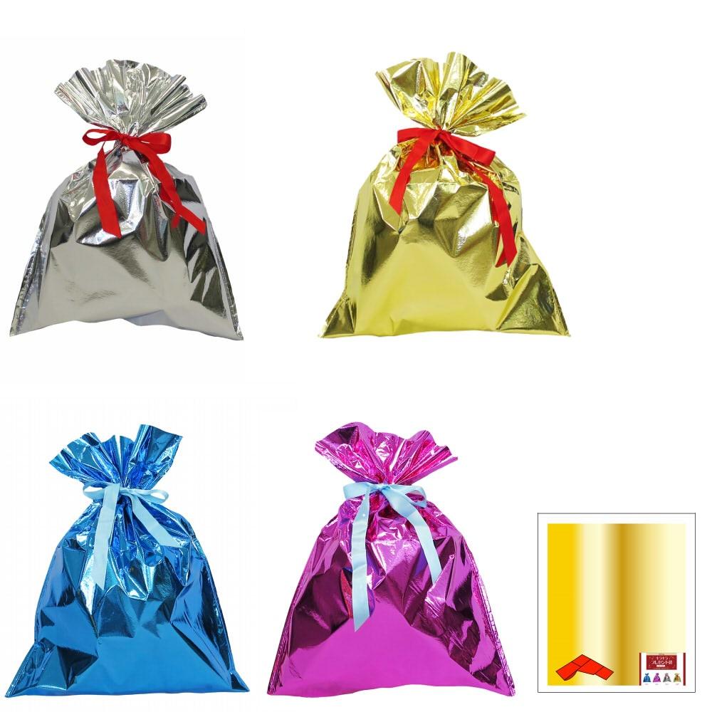 キラキラプレゼント袋(L)