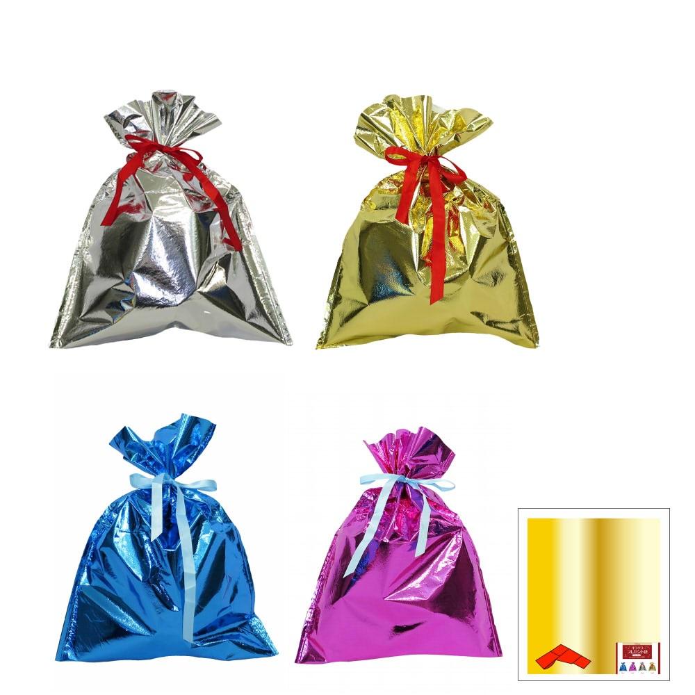 キラキラプレゼント袋(M)