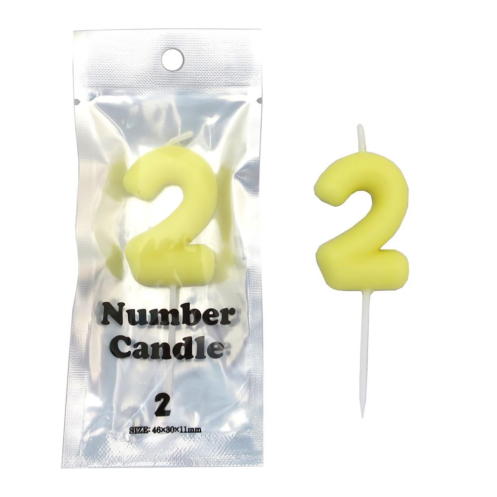 ナンバーキャンドル2